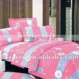 stock 100% Polyester Microfiber Printed Bed Sheet sets 3pcs only 1.9$-3.9$