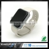 Alibaba Trade Assurance custom colorful rubber watch band for iwatch