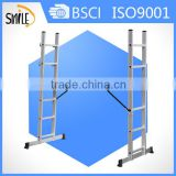 6*2 step ladder scaffolding ladder with GS certificate swedish wall ladder home gym for kids