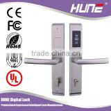 keyless digital hotel door card lock with access control system