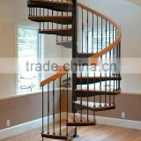 Elegant iron stair spindles, spiral stair manufacturers, design of stairs in home