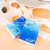 advertising soft and small pocket pack facial tissues