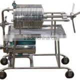 TOP Portable Ground Nut Oil Making Filter Press Machine, No Solids Impurity after Treatment