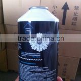 G.W 340g can packing AC system gas leak sealer gas AC leak sealant with R134a refrigerant gas