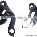 cheap titanium bicycle parts, Ti bicycle rear dropouts, bike rear dropouts made in china