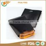 Hot new products heat resistant type FDA certificate Non stick resuble teflon grilling bags