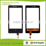 Excellent Quality Spare Parts Touch Screen for Nokia Lumia 810 Digitizer