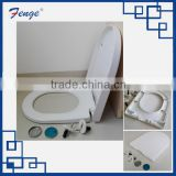 Smiley D square , Duroplast urea toilet seat, easy installation, fast clip, soft close and stainless steel hinge
