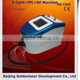 2013 New design E-light+IPL+RF machine tattooing Beauty machine portable facial massager electronic beauty machine