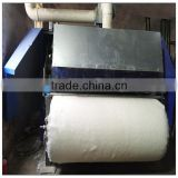 Cotton processing fluffer / cotton combing carding machine