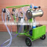 Top selling packing machine for milk powder,vacuum double buckets goat milk machine HJ-CM011VD