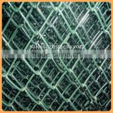 Chain link fence Anping Diamond Brand Galvanized / PVC Coated Chain Link Fence / Chain Link Mesh