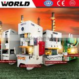 pneumatic clutch 200 ton H frame single crank metal stamping press machine for sale JW31-200