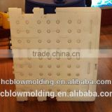 plastic blow molding spine board/Plastic Traffic Barrier Boards/plastic stretcher, back board
