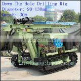 Working with air compressor! high efficiency~ HF100YA2 drill equipment for opening mines