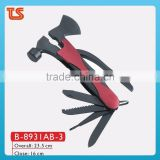 2014 new Multi-purpose hammer/Multi tool hammer with axe/hand tools manufacturers ( B-8931AB-3 )