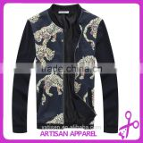 Spring/Autumn Men's Jacket Wholesale Windproof Jacket for men with Flower Printing&OEM