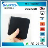 China Factory Smartcn SM2000 Mini Portable Pico Pocket Projector Smartphone Led DLP Projector With WIFI Bluetooth 0.12kg