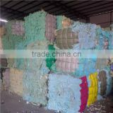 Polurethane foam scrap PU foam scrap With 10%Skin