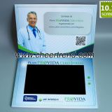 video player greeting card big lcd size video brochure