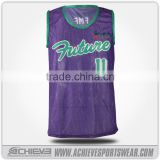 New Style basketball jersey design