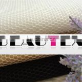 Sandwich air mesh polyester100% warp knit fabric for seat covers for car for bags for sofa