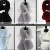 Luxury High Quality Colorful Real Fox Fur Scarf
