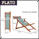Wooden frame beach chair,fishing chair,wholesale deck chairs