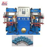 low price silicone zipper slider hydraulic vulcanizing zipper stopper press heat machine