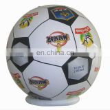 Inflatable soccer style beach ball