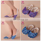 Multy colors handmade Beaded women wholesale belly dance shoes X-8060