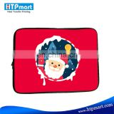 sublimation full printing neoprene laptop sleeve
