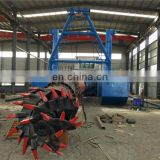 New Model Hydraulic Cutter Suction Sand Dredger in Sale