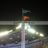 2016 Movable Vertical Electric Medal Award Flag poles for Champion,Second place and third place
