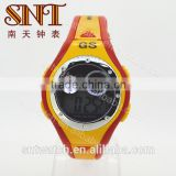 Hot sale plastic LCD watch water resistant watch