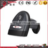 RD-1698 1d wired laser handheld code bar scanner wired barcode scanner for pos system and waregouse