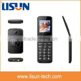 "2.4"" low price big button senior flip cell phones with SOS button for elderly people"
