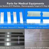 Thickness 0.085mm tungsten collimators for Medical X-ray Equipment                                                                         Quality Choice