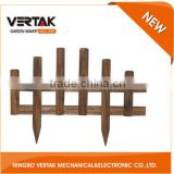 Good after-sale service wooden picket fencing , wooden garden fencing , wooden garden edging fence
