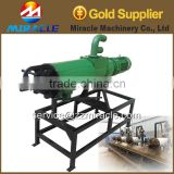 Cow horse dung liquid separator machine/solid & liquid separating machine of dung for making the fuel