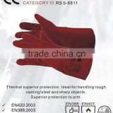 RS SAFETY New premium leather safety glove and thermal Welding glove