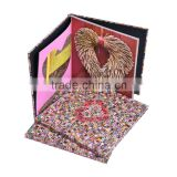 Paper & Paperboard Product Material and Offset paper, cheap hardcover brochure/photo book