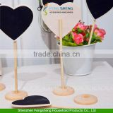 10pcs Fashion Wedding Love Heart Chalkboard Blackboard Memo Table Numbers Place Office