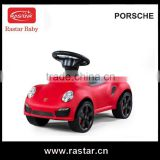 Rastar PORSCHE hot model children ride on child stroller