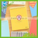 Art paper note book book printing service cheap paper note book best note book with elastic band
