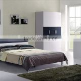 solid wood particle board with Melamine bedroom sets (bed+desk+cabinet+wardrobe+night stand) made in China(SZ-BFA8008)