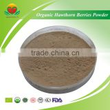 Manufacture Supply NOP/EU Organic Hawthorn Berries Powder