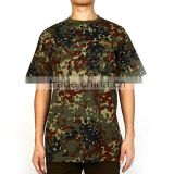 Chinese factory anti-Shrink and anti-wrinkle promotional camouflage letter printing t shirt