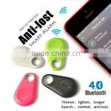 2015 Hot Smart Tag Bluetooth Tracker Child Bag Wallet Key Finder GPS Locator Alarm Pet Dog Tracker 4 Colors