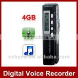 4GB Multi-function LCD USB Digital Audio Recorder MP3 Player speaker Recorder